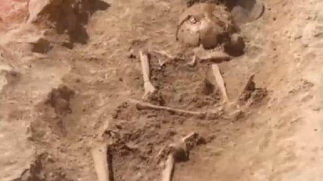 Rojhılat'ta 4 bin yıllık mezarlık keşfedildi