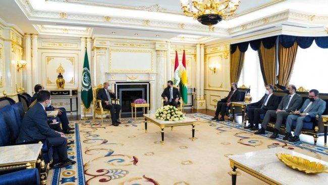 Başbakan Barzani: Arap Birliği'nin çözümde rol almasını umuyoruz
