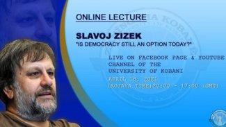 Zizek, Kobanê Üniversitesi'nde ders verecek