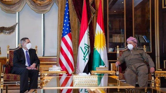 Başkan Barzani, ABD'li heyetle görüştü