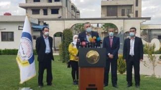 Rojava'dan salgın uyarısı: Büyük bir insani kriz yaşanabilir