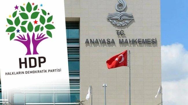 AYM, HDP iddianamesinin iade gerekçesini açıkladı