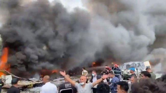 Bağdat'ta şiddetli patlama: Çok sayıda ölü ve yaralı var!