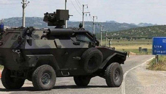 Lice'de askeri operasyon: Evler basıldı...