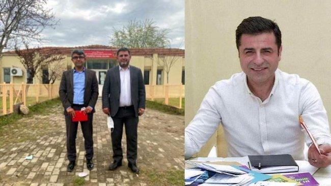PDK Bakur heyeti Demirtaş ile görüştü: 'Tüm Kürtler dahil birlikte çalışmamızı istiyor'