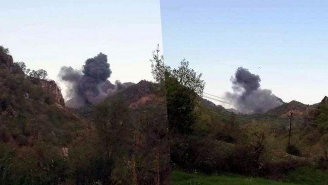TSK Dinarte sınırlarını bombaladı
