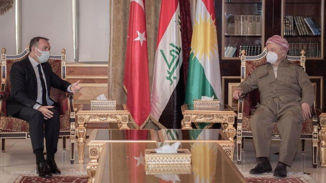 Başkan Barzani, Türkiye Büyükelçisi Fatih Yıldız ile görüştü