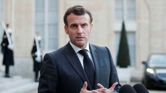 Macron: Rusya'yla ilişkilerde net kırmızı çizgiler çizmeliyiz