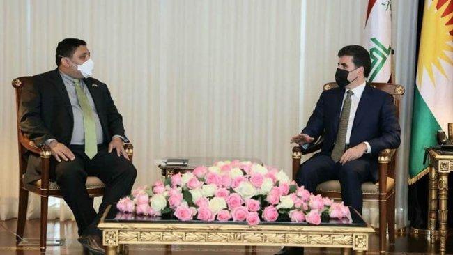 Neçirvan Barzani: 'Kürt sorunu Suriye içerisinde çözülmelidir'