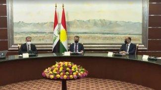 Başbakan Barzani: AB ülkelerinin yetkilileriyle bir araya geldi