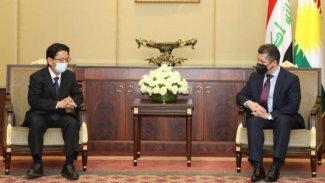 Başbakan Barzani, Japon heyet ile görüştü