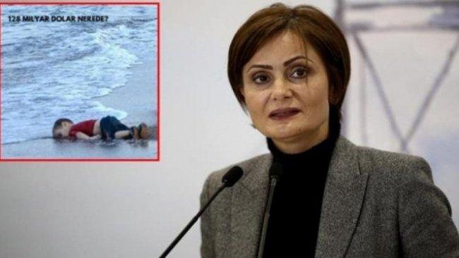 Canan Kaftancoğlu'nun Alan Kurdi paylaşımı tepki çekti