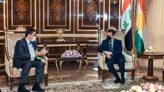 Başbakan Barzani: Yunanistan'la ilişkilerimizi geliştirmekten memnuniyet duyarız