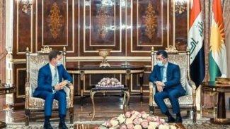 İngiltere'den Kürdistan Bölgesi Hükümeti'ne destek vurgusu