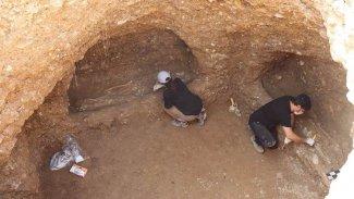Kürt ilinde 1500 yıllık oda mezar bulundu