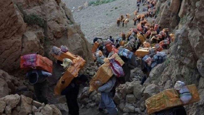 İran güvenlik güçlerinden Kürt Kolberlere saldırı