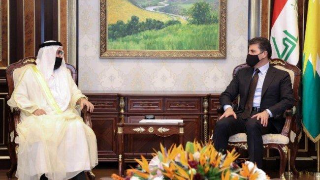 BAE'den Neçirvan Barzani'ye davet