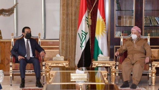 Başkan Barzani, Irak Parlamentosu Başkanı Halbusi ile görüştü