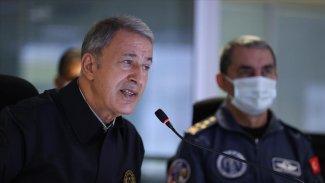 Hulusi Akar: Bazı ülkeler PKK'ye füzeler verdi
