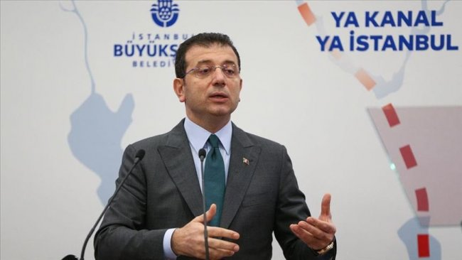 İmamoğlu: Kanal İstanbul'un yapılmasına engel olacağız
