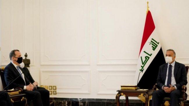 ABD heyeti Irak Başbakanı Kazimi ile bir araya geldi