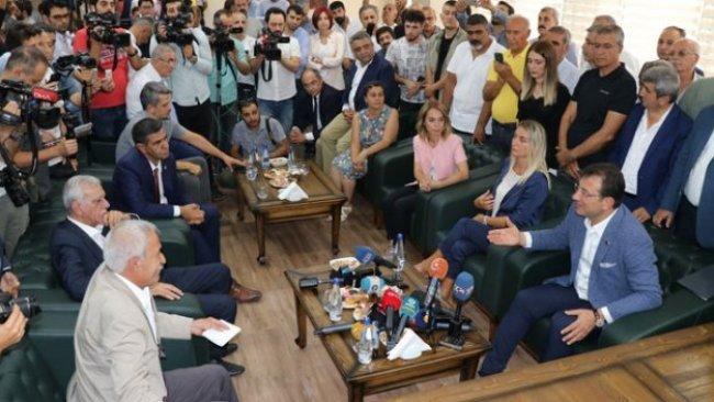 İmamoğlu'na 'HDP ziyareti' soruşturması