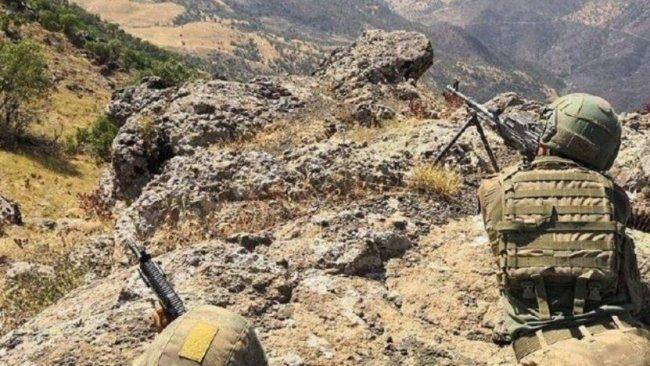 Irak askerleri TSK-PKK çatışmalarının yaşandığı Metina'ya konuşlandı