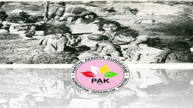 PAK: Dersim Soykırımı'nın Resmi Başlangıç Tarihi 4 Mayıs 1937'dir