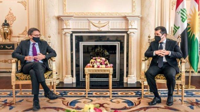 ABD heyeti Başbakan Barzani ile görüştü: 'Kürdistan Bölgesi'yle ilişkilere önem veriyoruz'