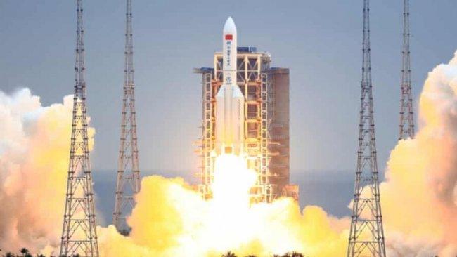 ABD Uzay Kuvvetleri Komutanlığı: Çin'in 22 tonluk roketi 8 Mayıs'ta Dünya'ya düşecek
