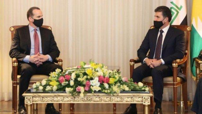 ABD'li heyet Neçirvan Barzani ile görüştü: Washington'da çok dostunuz var