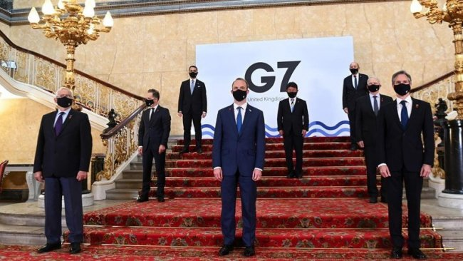 G7 ülkelerinden Rusya'ya karşı ortak bildiri