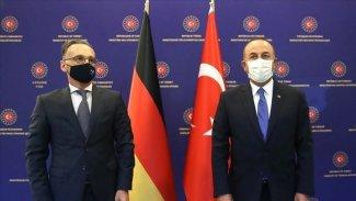 Maas ve Çavuşoğlu arasında Libya anlaşmazlığı