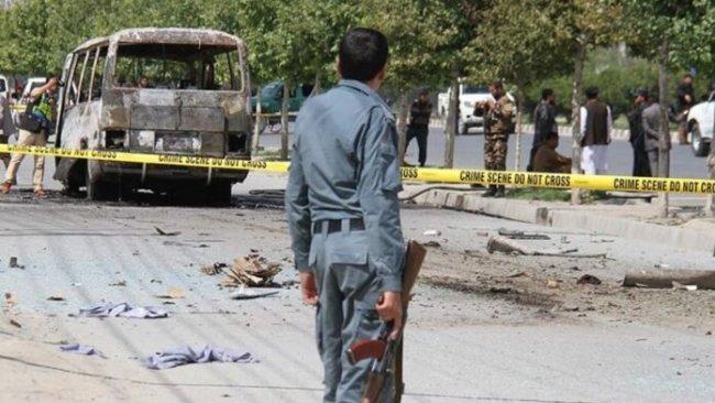 Afganistan'da otobüse bombalı saldırı