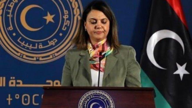 'Türk askeri çekilsin' diyen Libya'nın ilk kadın dışişleri bakanına istifa baskısı