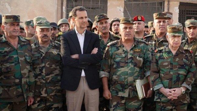 Esad, DSG ve ABD bağlantıları olduğu iddia edilen üst düzey ordu komutanını tutuklattı