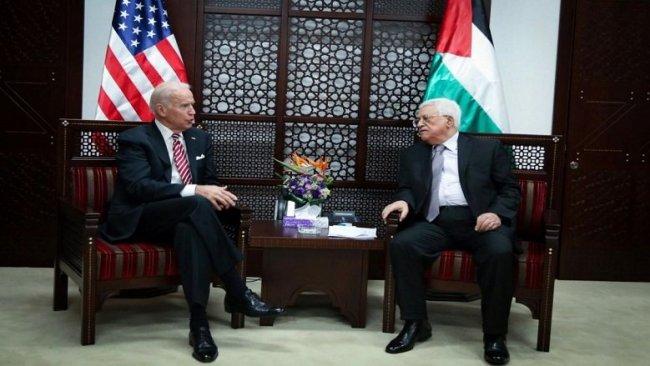 Biden'den Filistin Devlet Başkanı Mahmud Abbas'a yazılı mesaj