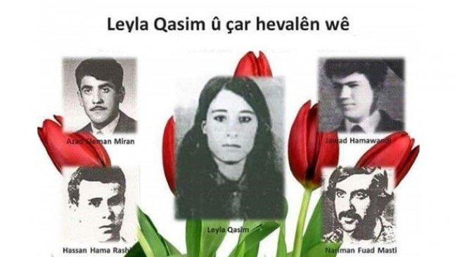 PAK: Leyla Qasim'ı Saygıyla Anıyoruz