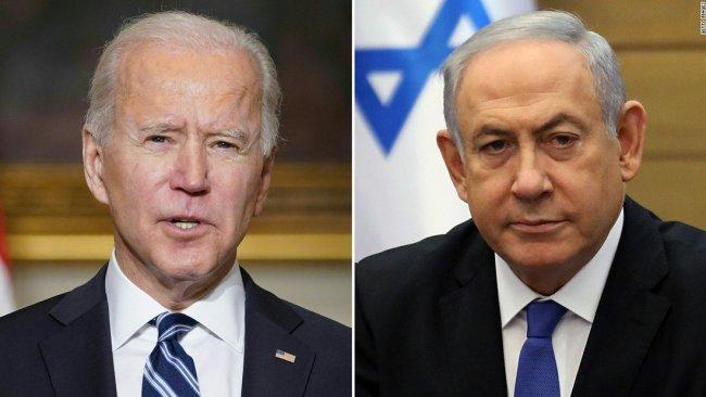 ABD Başkanı Biden ve İsrail Başbakanı Netanyahu görüştü