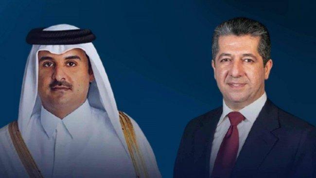 Başbakan Barzani, Katar Emiri ile telefonda görüştü