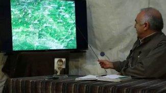 Karayılan harita üzerinden anlattı: 'Türk devleti bir tampon bölge oluşturmak istiyor'