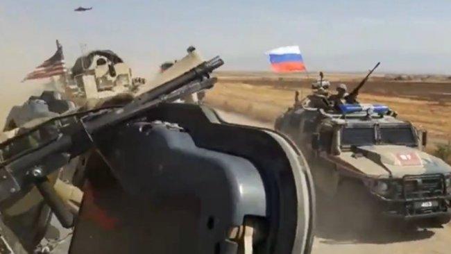ABD ve Rus güçleri Heseke'de karşı karşıya geldi