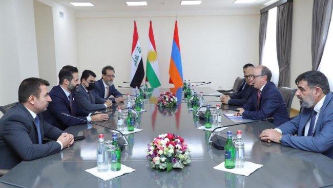 Kubad Talabani, Ermenistan Dışişleri Bakanı ile görüştü
