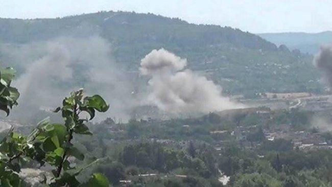 TSK'nın hava saldırıları nedeniyle 4 köyde yangın çıktı
