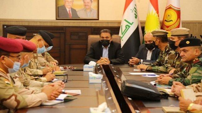Irak'tan Peşmerge Bakanlığı'na üst düzey ziyaret