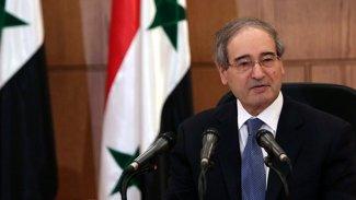 Suriye Dışişleri Bakanı'ndan DSG'ye çağrı!