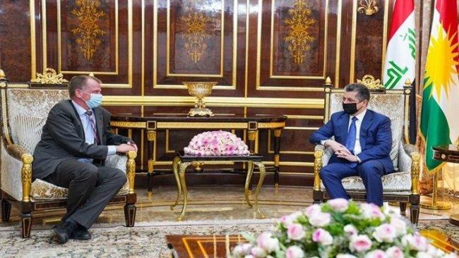 Almanya Büyükelçisi'nden Başbakan Barzani'ye: Kürdistan Bölgesi'ne desteğimiz sürecek