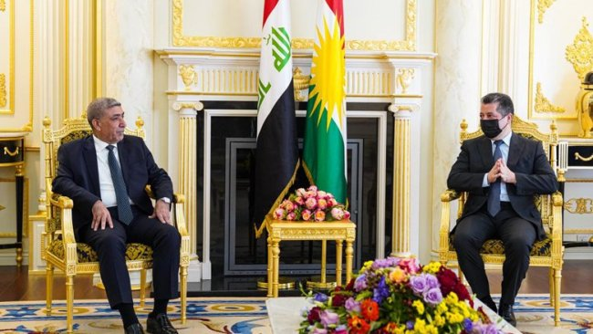 Başbakan Barzani Sadr Hareketi heyetiyle görüştü