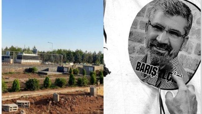 Tahir Elçi'nin mezarı tahrip edildi