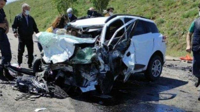 Sivas'ta feci kaza: 9 kişi hayatını kaybetti